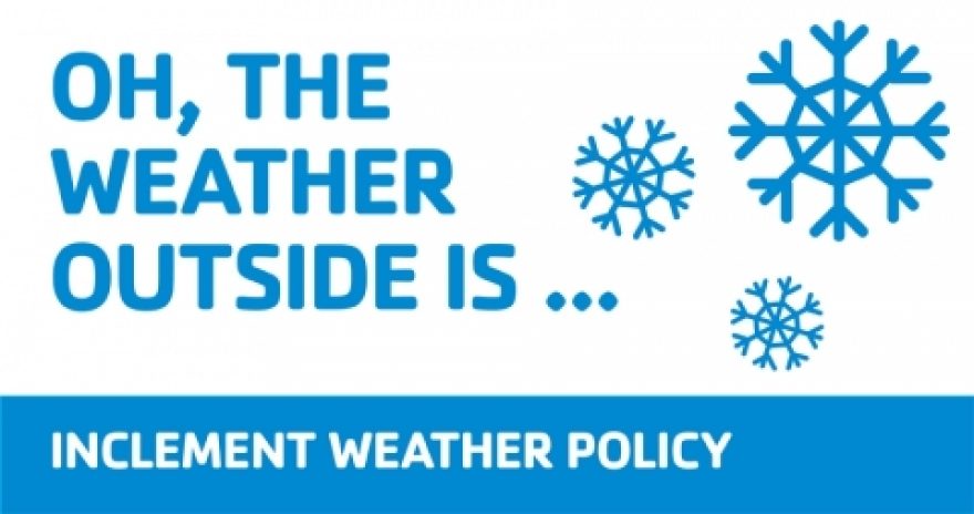 Inclement weather policy template gallery template for Inclement weather policy template